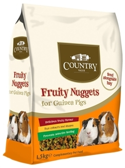 Burgess fruity nuggets cavia - 1,5 Kg