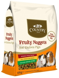 Burgess fruity nuggets cavia - 10 Kg