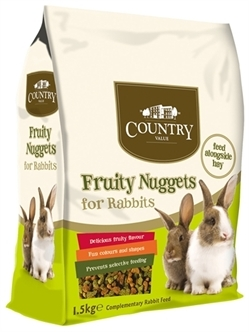Burgess fruity nuggets rabbit - 1,5 Kg
