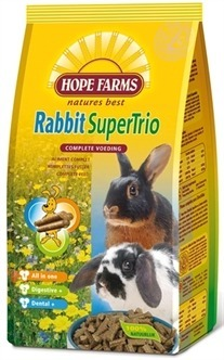 Hope farms Rabbit supertrio - 1 Kg