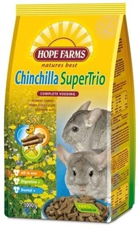 Hope farms Super trio chinchilla - 1 Kg