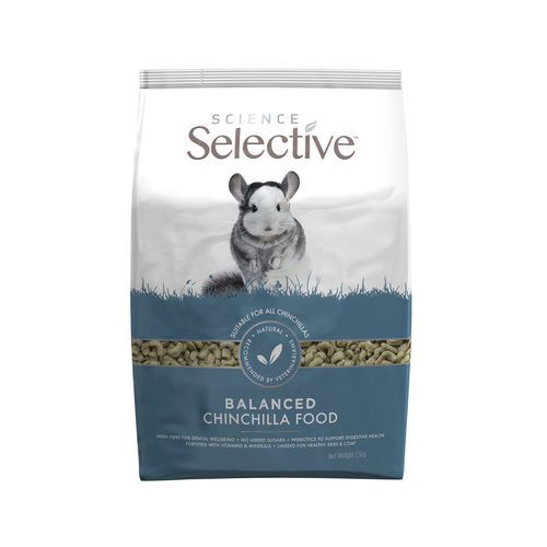 Supreme science selective Chinchilla food 1,5 Kg
