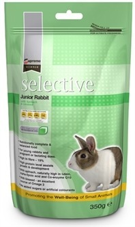 Supreme Science selective junior rabbit  350 Gr