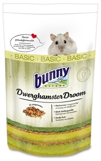 BUNNY NATURE DWERGHAMSTERDROOM BASIC 600 GR