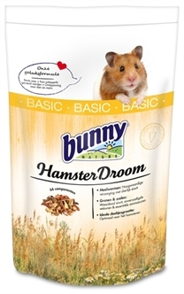 BUNNY NATURE HAMSTERDROOM BASIC 600 GR