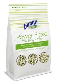 BUNNY NATURE POWER FLAKE PETERSELIE MIX 100 GR
