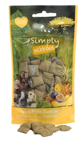 ROSEWOOD SIMPLY NIBBLES TROPICAL FRUIT KUSSENTJES